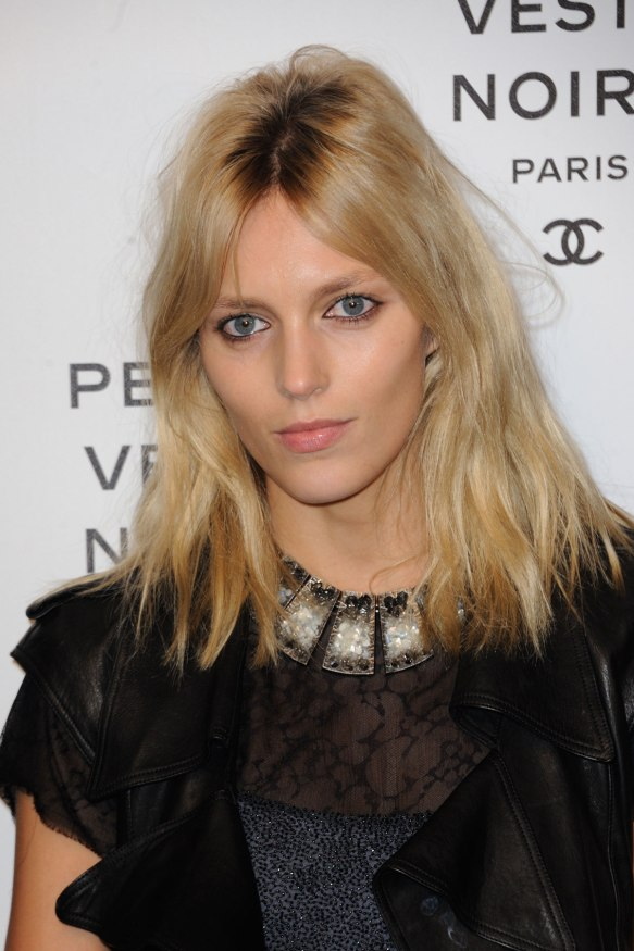 ANJA RUBIK at Chanel The Little Black Jacket Exhibition