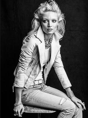 Melissa Tammerijn by Victor Demarchelier (A New Glow - Vogue Spain April 2013)