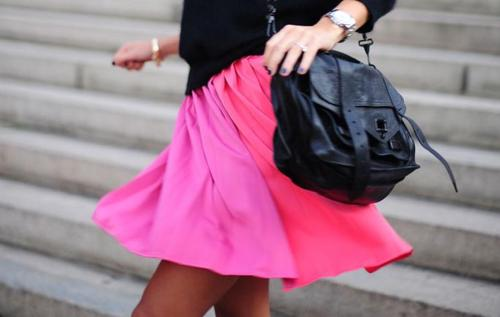 la-modella-mafia-Model-Off-Duty-street-style-Fall-2012-color-hot-neon-pink-1