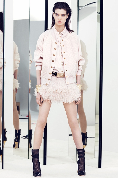 la-modella-mafia-Balmain-Paris-Resort-2014-collection-deigned-by-Olivier-Rousteing-3