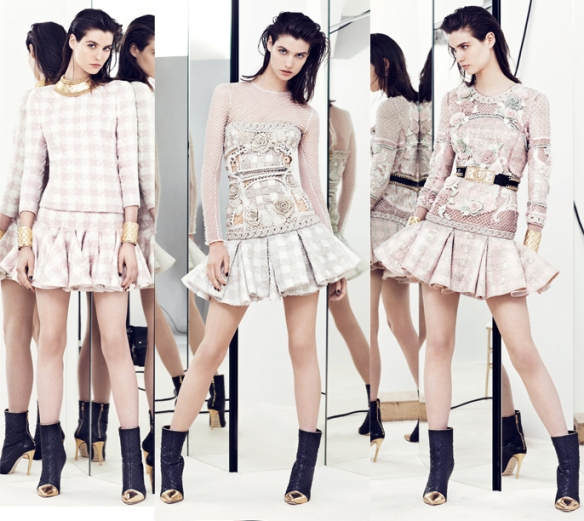la-modella-mafia-Balmain-Paris-Resort-2014-collection-deigned-by-Olivier-Rousteing-4