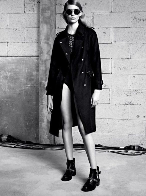 la-modella-mafia-Sandro-Womens-Fall-Winter-2013-Lookbook-1