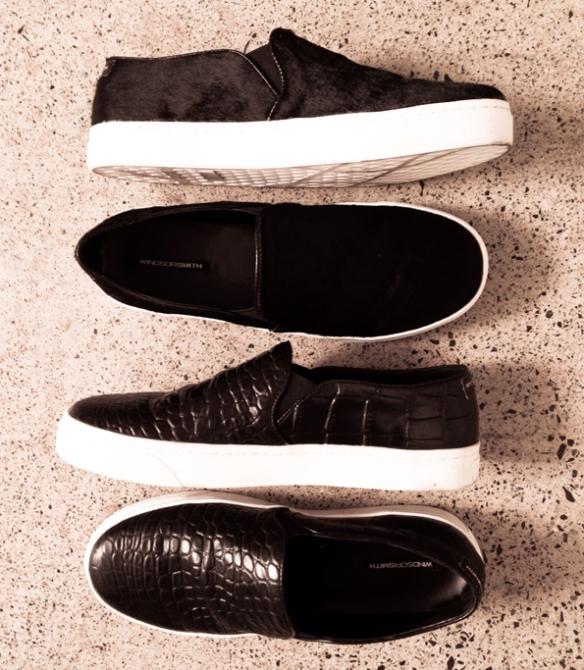 la-modella-mafia-Spring-2014-street-style-Windsor-Smith-slip-on-sneaker-shoes-in-crocodile-and-pony-hair
